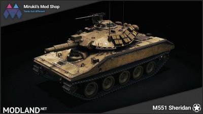 Mirukii's M551 Sheridan Remodel [1.5.1.0]